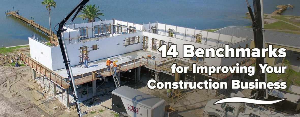 14 Benchmarks for Improving Your Construction Business