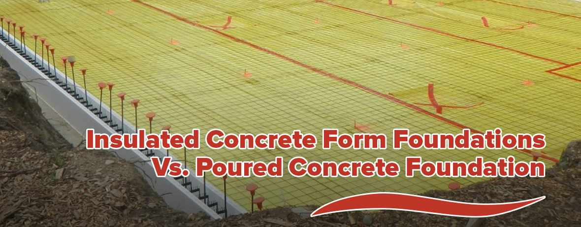 Insulated Concrete Form Foundations Header